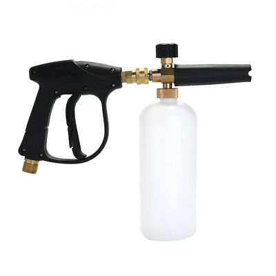 Adjustable Car Wash Watering Can 1L with HDPE and Brass Soap Foam Pressure L0Q0