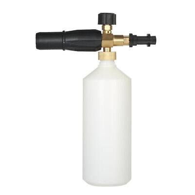 Adjustable Car Wash Watering Can 1L with HDPE and Brass Soap Foam Pressure J3N7