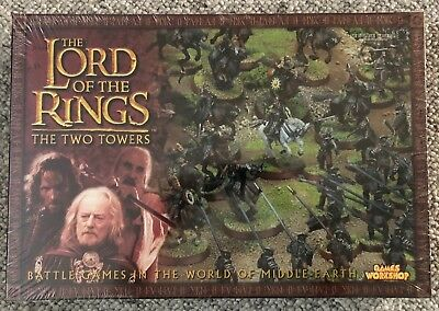 The Lord of the Rings THE TWO TOWERS - Strategy Battle Games Games Workshop MIB