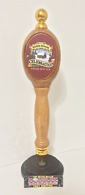 "Sierra Nevada Celebration Ale Pub Style Beer Tap Handle 13"" Tall - Excellent!"