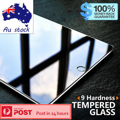 Genuine Tempered Glass Screen Protector for Apple iPad Pro Air Mini 2 3 4 2015 7