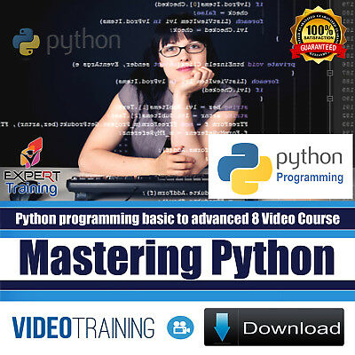 Mastering Python Programming Bundle Pack of 8 Video training Course DOWNLOAD