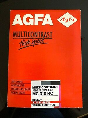 Agfa Multicontrast photo paper - 25 5x7in MC 310 RC (Vintage) Unopened