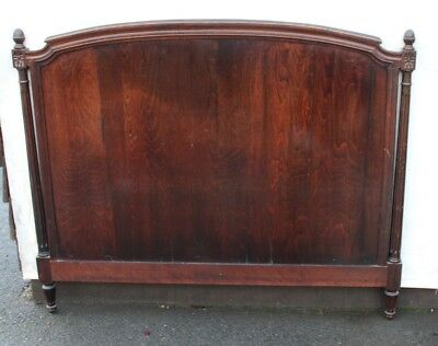 1900's Rosewood French Headboard -King size
