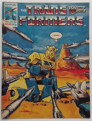 Transformers UK Comic Issue 43