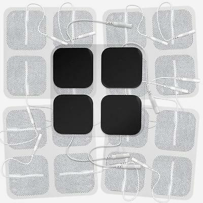 Square TENS/EMS Unit Electrodes 20 Pack Electro Pads TENS Therapy Device Machine