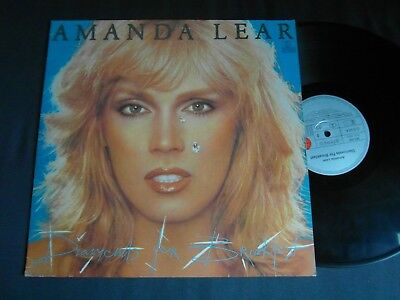 Lp   Amanda Lear  -  Diamonds For Breakfast  (Orig.1977-Press)  Vg