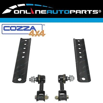 Rear Sway Bar Links + Extension Plates suits Toyota Landcruiser 80 Series 92~98