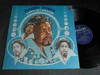 Lp   Barry White  -  Can`t Get Enough  (Orig.1974-Press)  Vg ++
