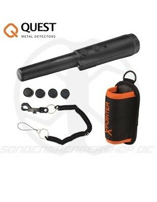 QUEST X pointer metal detecting pinpointer pulse induction