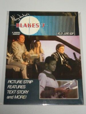 Blakes 7 #21 Marvel British Monthly June 1983^