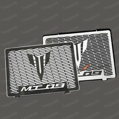 Stainless Radiator Guard Cover Grill Grille Protector For Yamaha MT-09 2013-2018