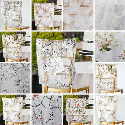 Brilliant Chair Caps Covers 17 In Sheer Organza With Floral Design Pdpeps Interior Chair Design Pdpepsorg
