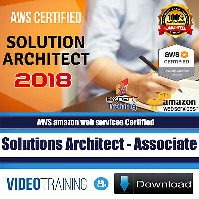 AWS Certified Solutions Architect Associate 2018 Video Training Course DOWNLOAD