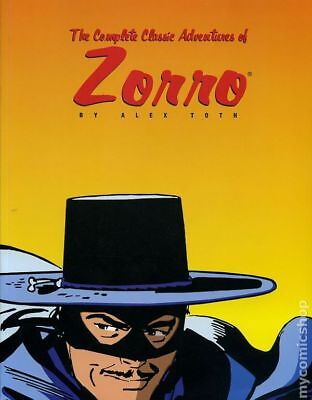 Complete Classic Adventures of Zorro TPB (Image) By Alex Toth #1-1ST 1999 FN