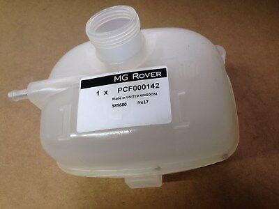 Genuine Mg Rover Mgf & Mg Tf Coolant Expansion Tank Pcf000142 141 140 No Sensor