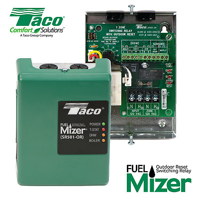 Taco FuelMizer SR501-OR-4 Switching Relay & Boiler Reset Control w/Outdoor Reset