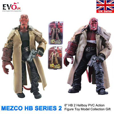 "6"" HB 2 Hellboy PVC Action Figure Toy Model Collection Gift"