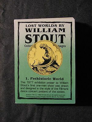 Lost Worlds by William Stout Set of 90 cards - 1993 Comic Images