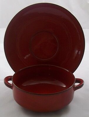Villeroy & and Boch GRANADA cream soup bowl / coupe and saucer