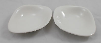 Villeroy & and Boch DUNE 2 x dip / sauce / condiment bowls 14cm - New