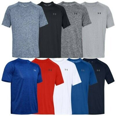 8e0142367d0849 Under Armour Mens UA Tech T-Shirt 2.0 Short Sleeve Gym Fitness Running  Training