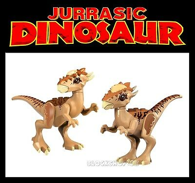 STYGIMOLOCH x 2 SET - JURASSIC DINOSAUR - kingdom park world - fits lego