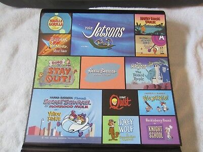 Warner Bros Store Binder With Cell Images -Hanna Barbera