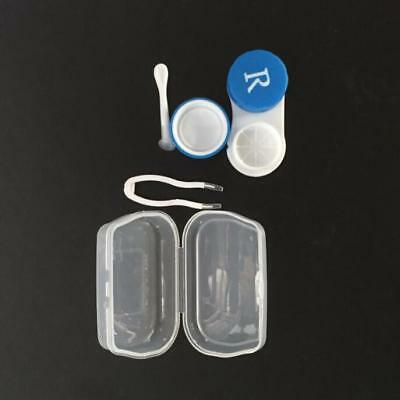 Contact Lens Case Box Travel Container Holder Eye Care Kit