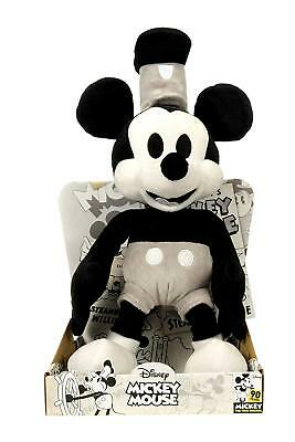 "Mickey Mouse 90th Birthday Limited Edition 10"" Steamboat Willy Posh Paws"