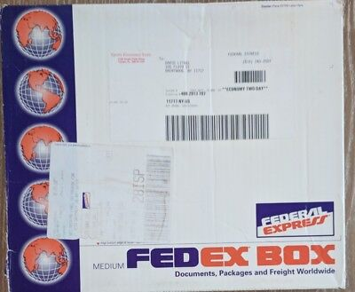 Vintage Federal Express FedEx Box Medium 1993