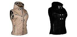 Speed & Strength Ladies Hell's Belles Leather Hooded Motorcycle Riding Vest