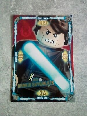 Lego Star Wars XXL Trading Card Collection Jedi Anakin Skywalker 9 x 12,8 cm