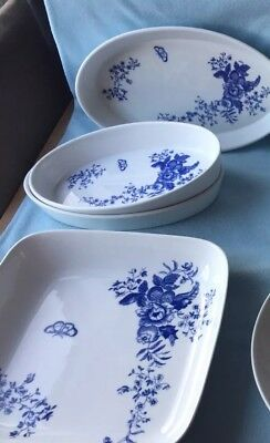 Royal Worcester  Rhapsody Vintage 7 Piece Collection 1975
