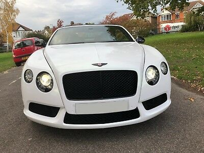 2013 Bentley GTC 4.0 V8 S FACELIFT GT Continental Convertible Cabriolet White