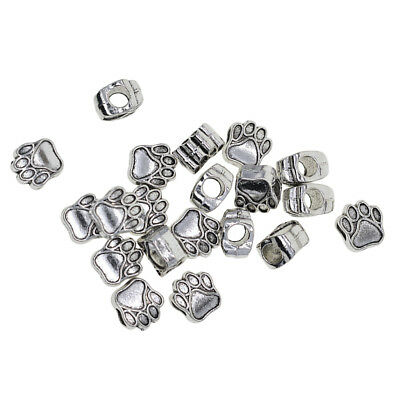 20pcs LARGE HOLE Animal Design Jewelry Making Beads Spacer Beads Findings