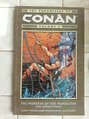 Chronicles of Conan Volume 3 The Monster of the Monoliths and other stories