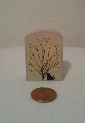 Cats Meow Village Fall Tree Collectible Keepsake