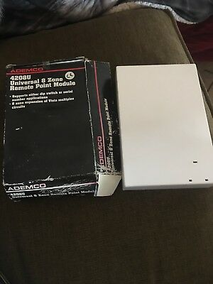 Ademco Honeywell 4208U 8 Zone Remote Point Module ONLY NEW OPEN BOX