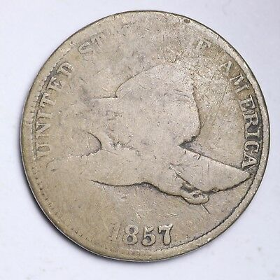 1857 Flying Eagle Cent Penny FREE SHIPPING
