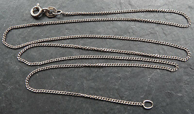 vintage 925 STERLING SILVER chain necklace for pendant -N314
