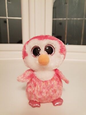 c1ae2bb54bf TY BEANIE BOO Very Rare Penelope The Penguin Tagged Hat Black ...