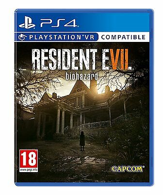 Resident Evil 7 Biohazard PS4 Game for Sony PlayStation 4 Brand New & Sealed