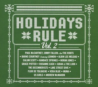 Holidays Rule, Vol. 2 by Various Artists (CD, Oct-2017, Capitol) NEW