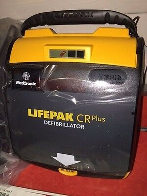 "*NIB* AED ""PHYSIO CONTROL - LIFEPAK CR PLUS"" FULLY AUTOMATIC w/ACCESSORIES"