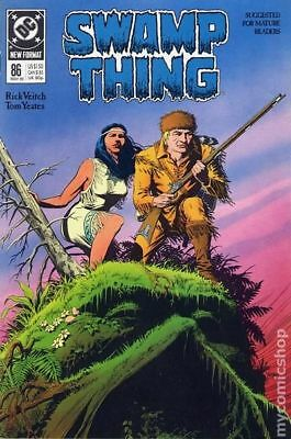 Swamp Thing (2nd Series) #86 1989 FN Stock Image