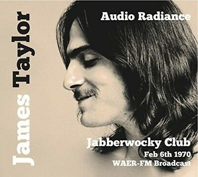 James Taylor - Audio Radiance (Jabberwocky Club, New York 1970) (CD)