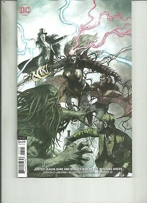 Justice League Dark And Wonder Woman The Witching Hour #1 Federici Variant Cover