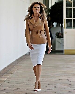 New 8x10 Photo: First Lady of the United States Melania, wife of Donald Trump