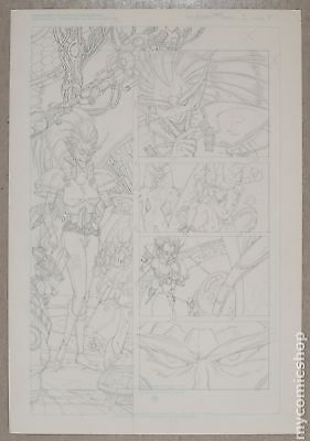 Original Art for Atomic Clones Issue 3, Page 2 by Paris Cullins (Unreleased)